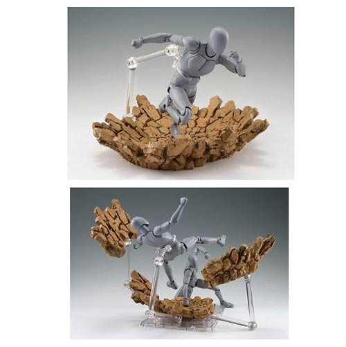 Tamashii Effect Impact Beige Version Action Figure Stand