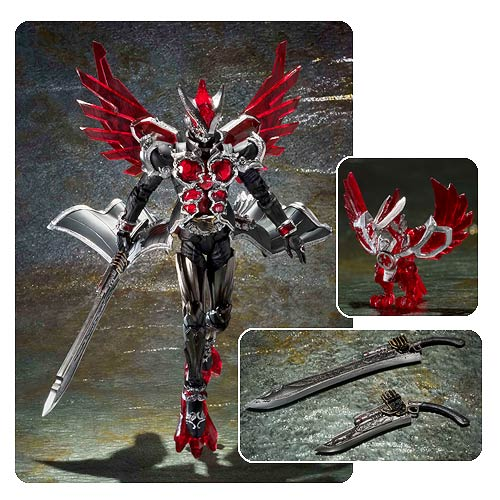 Kamen Rider Wizard Flame Style SIC Action Figure