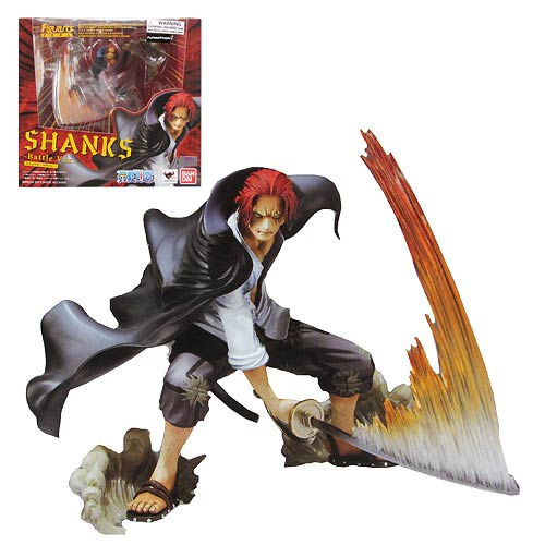 One Piece Shanks Battle Version Figuarts Zero Statue