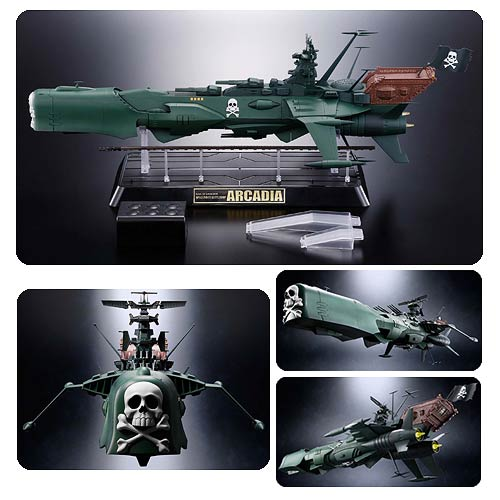 Space Pirate Captain Harlock Battleship Arcadia Vehicle