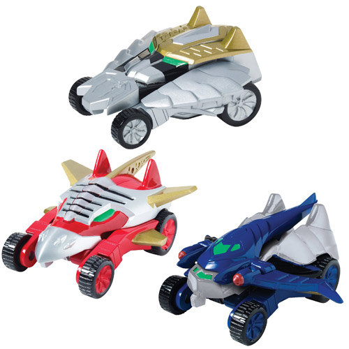 Power Rangers Megaforce Morphin Vehicle Wave 2 Set