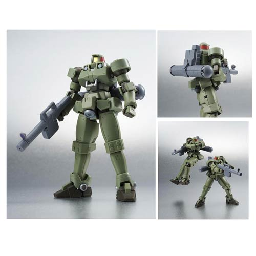 Gundam Wing Leo Moss Green Space Type Action Figure