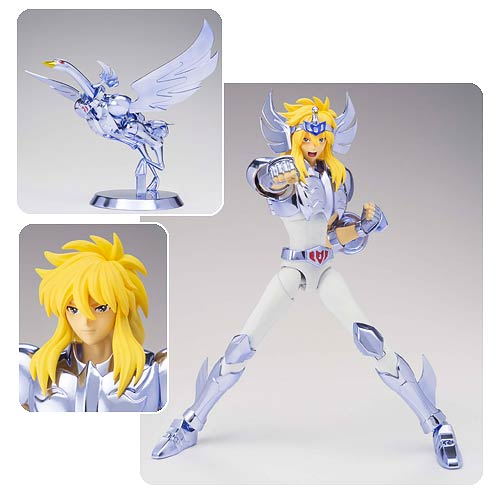 Saint Seiya Cygnus Hyoga Saint Cloth Myth EX Action Figure