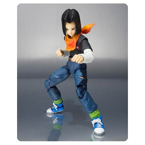 Dragon Ball Z Android 17 SH Figuarts Action Figure