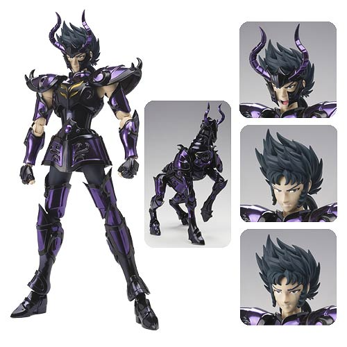 Saint Seiya Capricorn Shura Surplice Saint Cloth Figure
