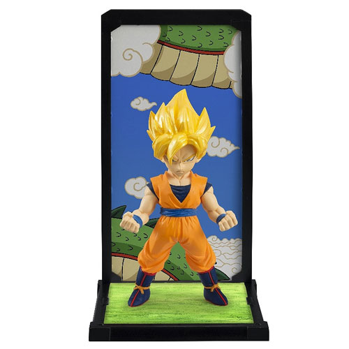Dragon Ball Z Super Saiyan Goku Tamashii Buddies Mini-Statue