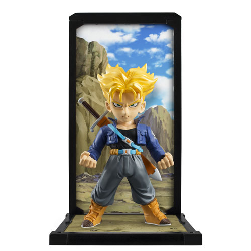 Dragon Ball Z Super Saiyan Trunks Tamashii Buddies Statue