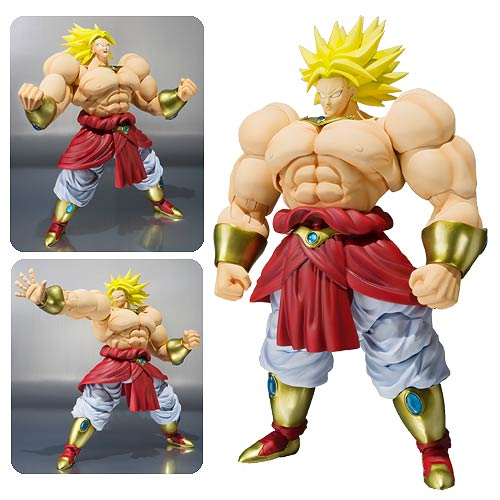 Dragon Ball Z Super Saiyan Broly SH Figuarts Action Figure