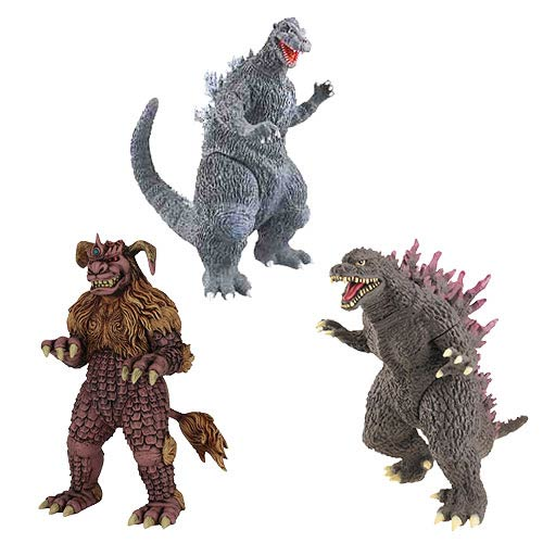 Godzilla Wave 5 Collectible 6-Inch Action Figure Set