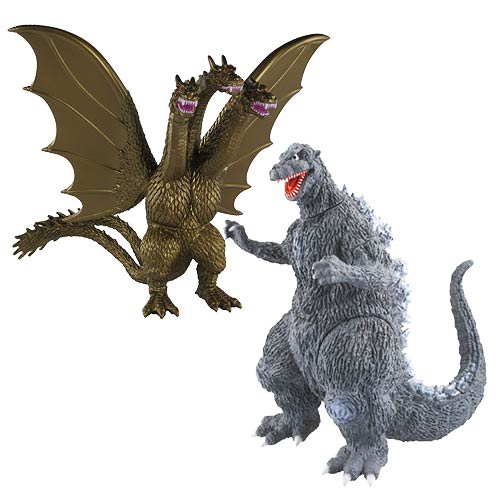 Godzilla Wave 6 Collectible 6-Inch Action Figure Set