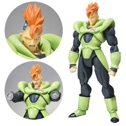 Dragon Ball Z Android 16 SH Figuarts Action Figure