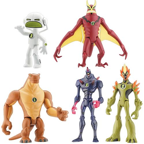 Ben 10 Alien Force 4-Inch Action Figures PDQ