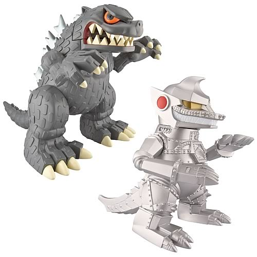 Godzilla 5 1/2-Inch Super Deformed Collector Figure Set