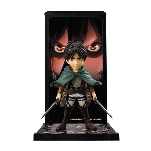 Attack on Titan Eren Yeager Tamashii Buddies Mini-Statue