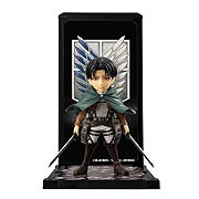 Attack on Titan Captain Levi Tamashii Buddies Mini-Statue