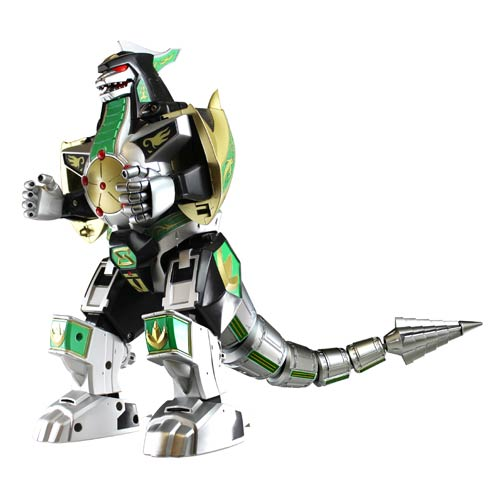 Power Rangers Legacy Green Ranger Dragonzord Die-Cast Figure