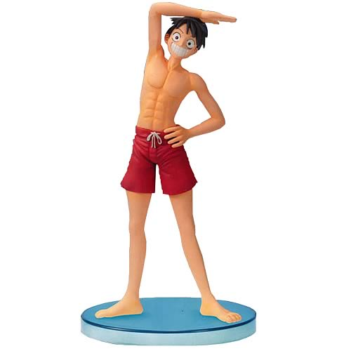 One Piece Luffy Swimsuit Style Action Statue