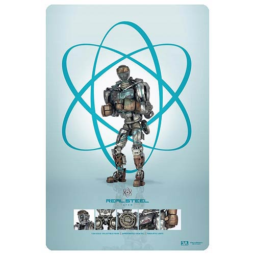 Real Steel Atom Robot 1:6 Scale Light-Up Action Figure