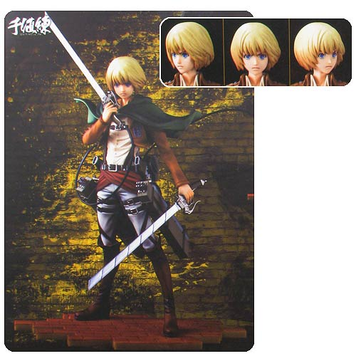 Attack on Titan Armin Arlert Brave-Act Statue