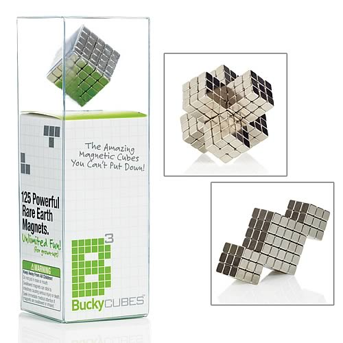 Buckycubes Nickel Magnetic Toy
