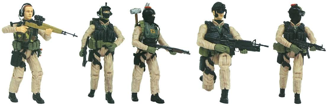 Elite Force 1 18 Toy : Elite force army case blue box toys military