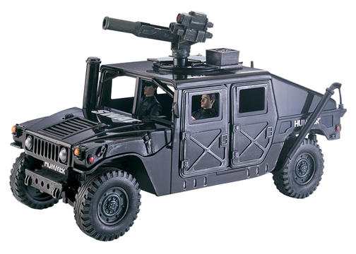 Toy Swat Trucks http://www.entertainmentearth.com/item_archive/items/Elite_Force_118_SWAT_Hummer.asp
