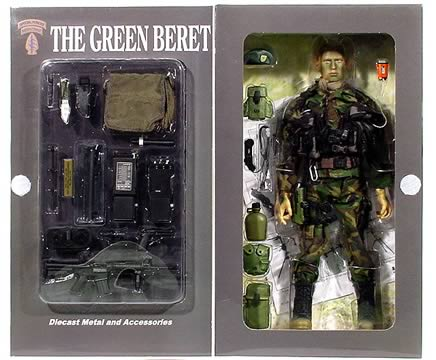 12 in. Green Beret, Eagle