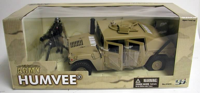 Military Toys Elite Force 1 18 : Elite force army humvee blue box toys military