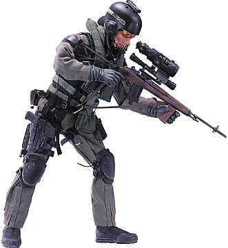 12 in. SEAL Helicopter Sniper