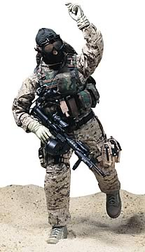 "12 in. USMC ""MARPAT"" figure"