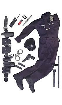 1:6 Scale LAPD Officer Gear