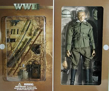 WWII Japanese Officer 12-inch Figure