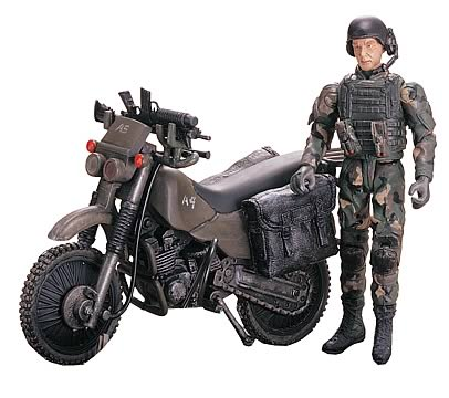 1:18 US Army Ranger Bike: Elite Force