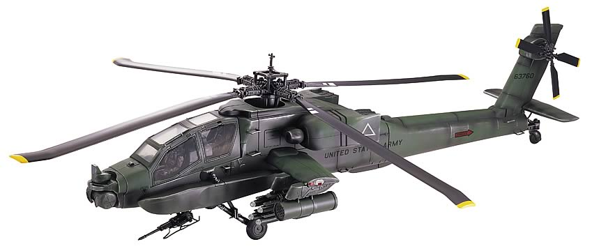 1:18 AH-64 Apache Helicopter