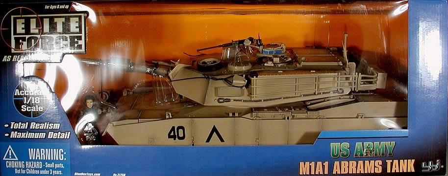 1:18 M1A1 Abrams Tank