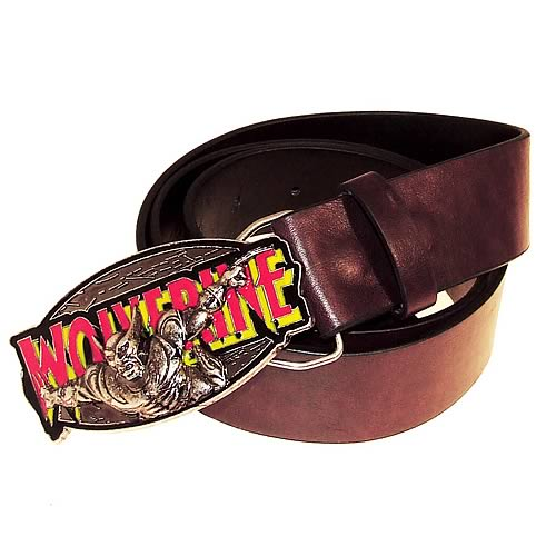 Marvel Retro Collection Wolverine Belt and Buckle