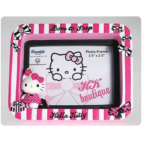 Hello Kitty Collection Born to Shop Small Picture Frame