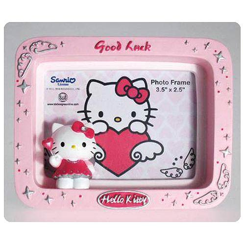 Hello Kitty Collection Good Luck Small Picture Frame
