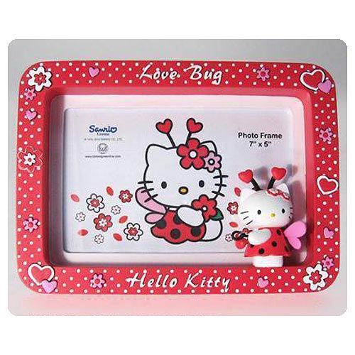 Hello Kitty Collection Love Bug Medium Picture Frame