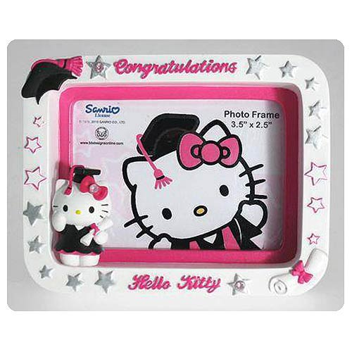 Hello Kitty Collection Graduation Small Picture Frame