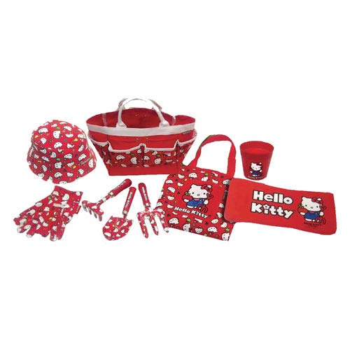 Hello Kitty Collection 9-Piece Children's Gardening Set