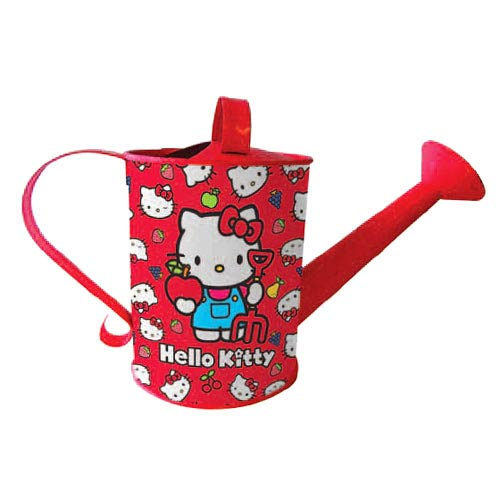 Hello Kitty Collection Children's Tin Gardening Watering Can