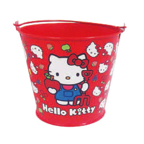 Hello Kitty Collection Children's Tin Gardening Bucket