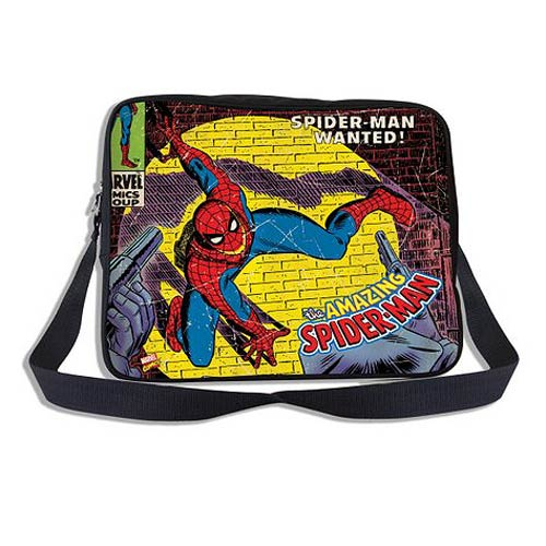 Spider-Man Marvel Comics Close Up Collection Messenger Bag