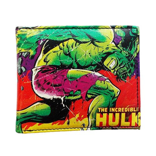 Hulk Marvel Comics Close Up Collection Wallet