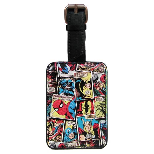 Marvel Comic Mania Luggage Tag