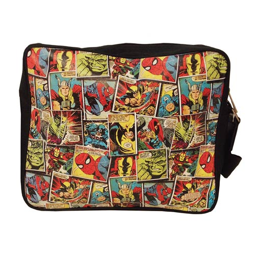 Marvel Comic Mania Messenger Bag