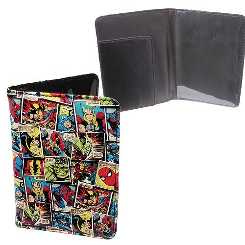Marvel Comic Mania Passport Holder