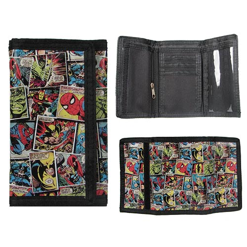 Marvel Comic Mania Wallet