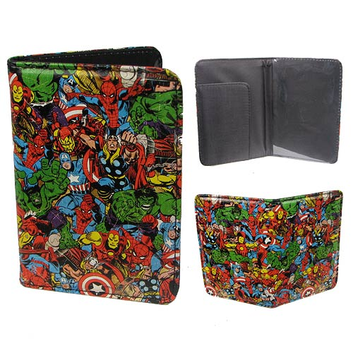 Marvel Multi-Character Passport Holder